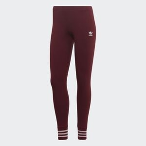 Adidas Tights with shiny accents